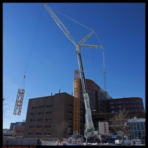 Construction at Roswell for UB2020 /courtesy of the dailydose.com