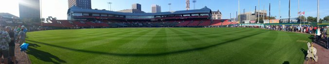 Beautiful Day to be at the Ballpark! - Photo via @WGOINBuffalo